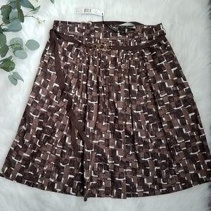 ELIE TAHARI Aliza Skirt 14 Briar Multi Cotton